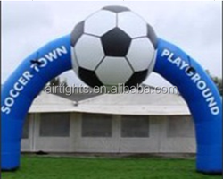 logo printed inflatable gate, inflatable arch for trade show and events