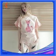 Pajamas, Knitted, Printed, Pyjama Women, Pyjama Femme