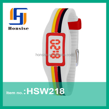 Promotional Silicone Hand Touch Led Watch Instructions