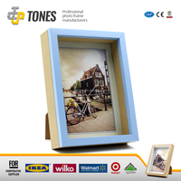 colorful paper photo frame