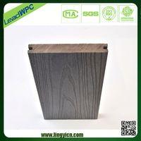new model wood plastic composite solid oak flooring