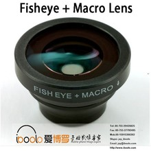 best selling 180 degree fish eye + macro lens for camera lens