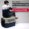 Medium cage with crate tray, loading 15kgs(66 pounds)