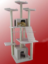 Cat Scratching Tree for Living and Playing