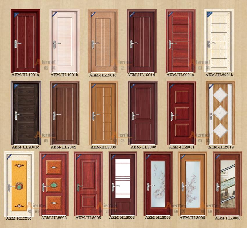 Haute qualit faible prix pvc peau de bois int rieur for Portes principales bois