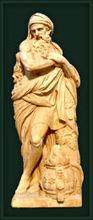 estatua de hombre