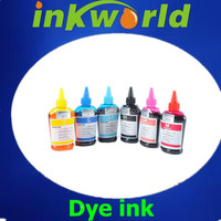 tinta! dye ink used for Epson photo1390 printer,with T0851-856 refillable cartridges