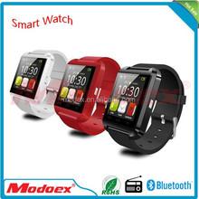 2015 New Technology cheap smart watch U8 touch screen china smart watch phone hot wholesale