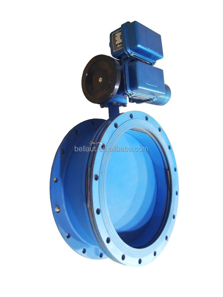 Cast Steel Motorized Control Flange Butterfly Valves Buy