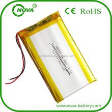 3.7v 5000mah polymer li-ion battery lipo akku 3.7v 5000 mah tablet pc battery