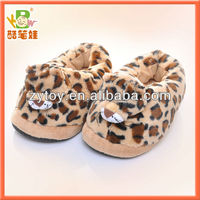 Animal Shaped Plush Slipper Toys For Children