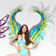 hotsale New party wings feather wing