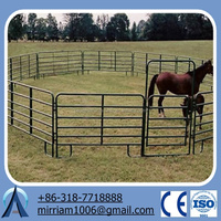 2012 hot sales galvanized horse fence panel