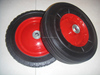 "semi solid rubber wheel 10"" x2.75"" with steel hub"