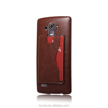 2015 PU Leather Stand Card Slot Case For LG G4