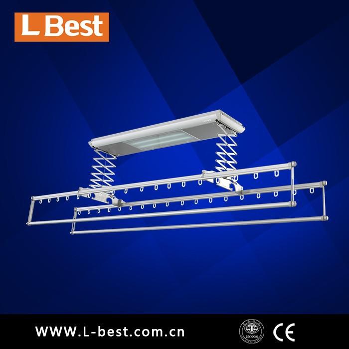 digital de control remoto eléctrico de secado estante de la ropa airer suspensión secador de