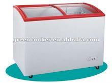 commercial chest freezer/deep freezer for ice cream display