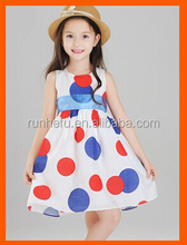 Baby girl cotton dresses WITH printing dress for girl