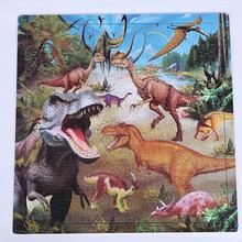 Jurassic Period 300pcs Children Jigsaw Puzzle for kids, Paper Jigsaw