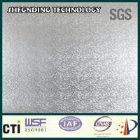 For Air Conditioner/Refrigerator! pe/pet coating cladding Soft aluminum foil Embossed Aluminum Foil Cladding