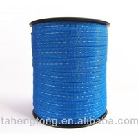 plastic strip about electric fence polytape