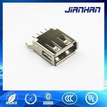 High Precision USB2.0 DIP 4pin Female Connector Part