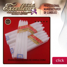 white household candle/white plain candle Mob:0086 15097479316
