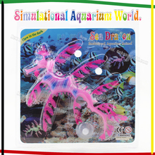 Aquarium Fluorescent Sea Dragon Wholesale Aquarium Fish Decorations Fish Tank Landscape Accessories Free Shipping