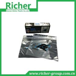 heat sealable zip lock packaging bag