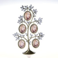 new coming family tree iron photo frame metal photo frameHQ409689