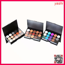YASHI Pro mineral eyeshadow makeup 15 color waterproof eye shadow palette