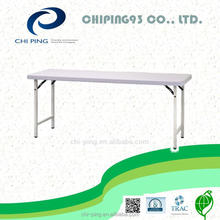 white color rectangular metal table legs folding conference table