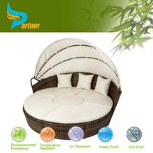 Aluminum Modern Cheap Optional Color Sultan Sandane Round Bed