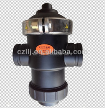 """Cheap price DN50 2"""" pvc 3 way ball valve for flow control biggest manufacturer"""