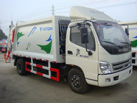 China manufacture Compression garbage truck 4X4