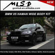 Car parts auto spare pack aero kit X5 Haman body kit