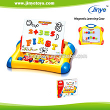 2015 new kids erasable writing board with Magnetic letter & number