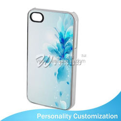 For Ipone 4 Blank Phone Case Sublimation Blank universal leather case for mobile phone
