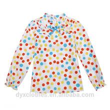 patrón de la blusa diseño para los niños, la moda coreana niña blusa diseño para los niños, nuevo modelo niñas tops