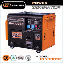 Made in China 6kw power electric portable diesel generator for sale