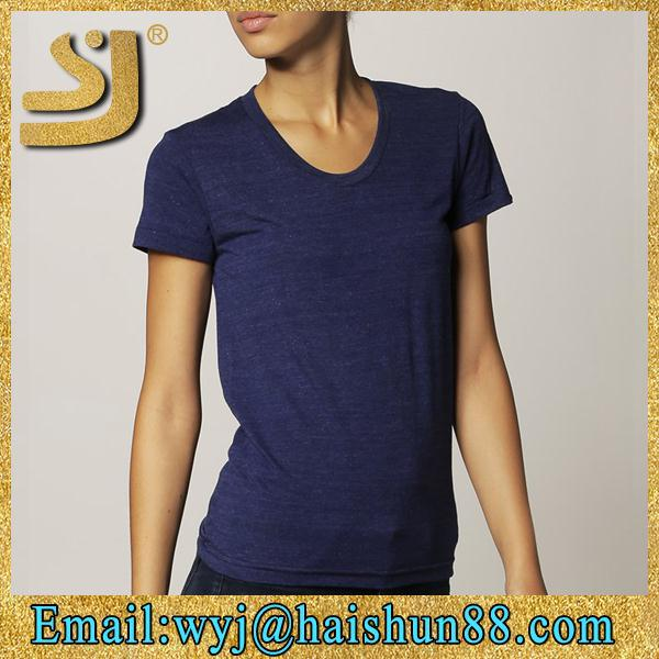 High quality short sleeve wholesale blank t shirts for for Trade t shirt printing