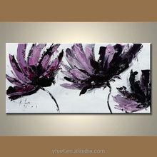 Wholesale Handmade Wall Art Modern Flower Oil Painting