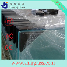 best seller 10mm silk screen double sided drinking printing glass with CE