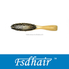 planted boar bristle wooden brush for periwig