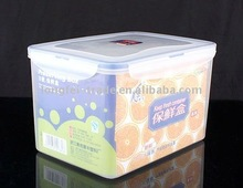 huge plastic container,food storage box,5000ml,rectangle