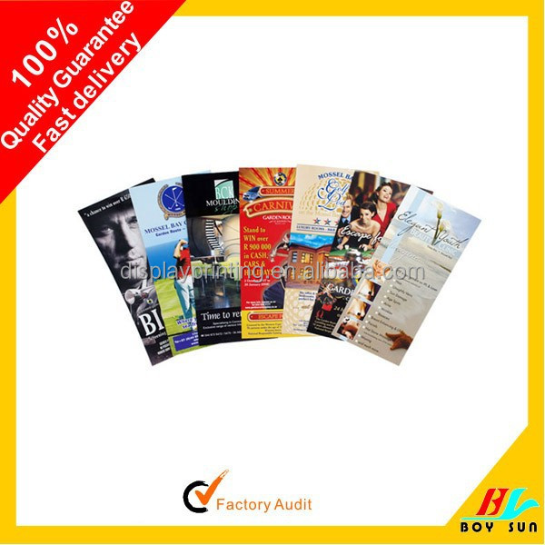 Best selling client own design promotional flyers buy 4 selling design