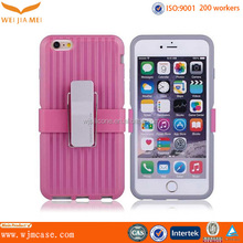 2014 new mobile phone holster combo case for iphone 6 plus 5.5 inch