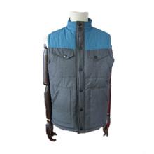 2015 lastest fashion new design, cheapest vest, mens padded vest