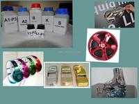 Eco-friendly silver spray paint/ blue chrome paint for chrome plating machine