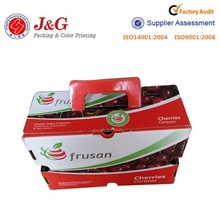 Fashion desiogn corrugated box for food packaging boxes ,fruit packaging box